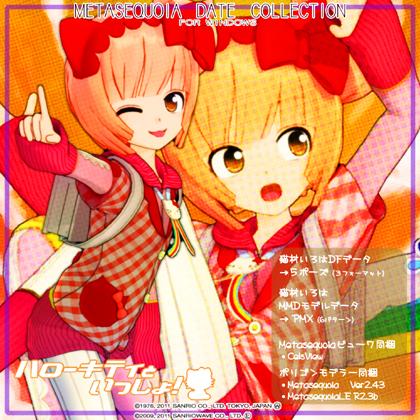 okama's キティラー 猫村いろはアイドル版act2 デジタルフィギュア&MMDモデルデータの画像