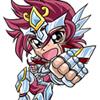 オメガヨンコマ流星拳 聖闘士星矢Ω4コマ本