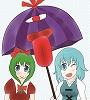 小傘と雛の合同誌 「唐傘ちゃんと厄神様」